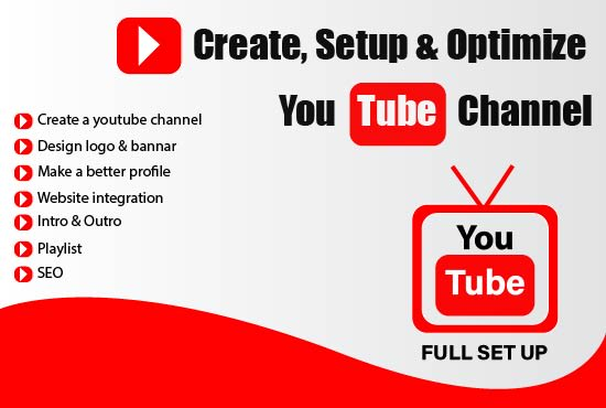 I will do organic youtube promotion of your video channel, FiverrBox