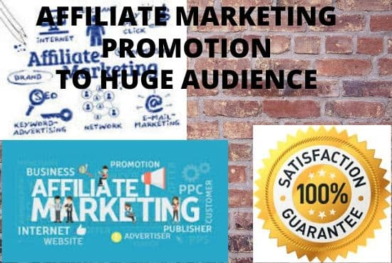 Do Affiliate Marketing, Promotion to boost Sales,Traffic & Website Conversion