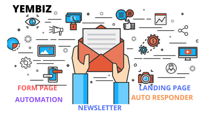 I will set up complete email marketing email blast email campaign klaviyo email series, FiverrBox