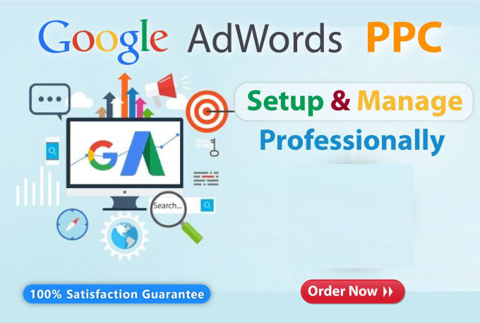 Setup profitable and manage your google ads adwords ppc campaign, FiverrBox