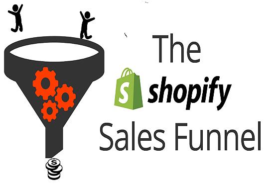 I will set up shopify sales converting shopify klaviyo sales funnel klaviyo flows, FiverrBox