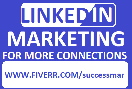 I will do linkedin promotion,marketing strategies and grow your account base