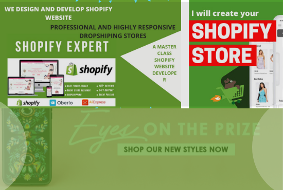 Setup high converting dropshipping store or website, FiverrBox