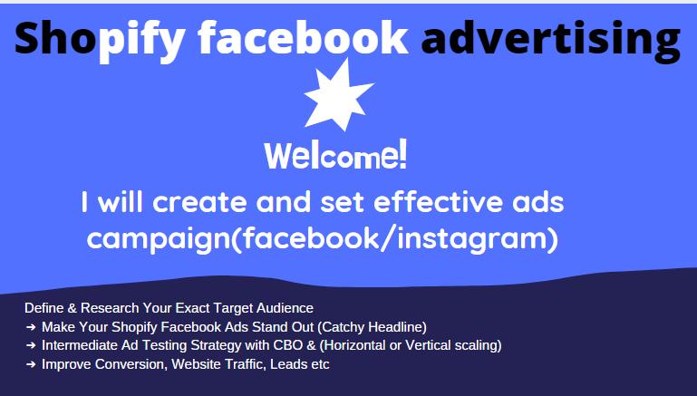 Do shopify marketing,campaign, market your shopify retail store,ebay,esty, FiverrBox