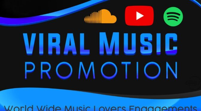I will drive real organic traffic to your song on soundcloud,spotify
