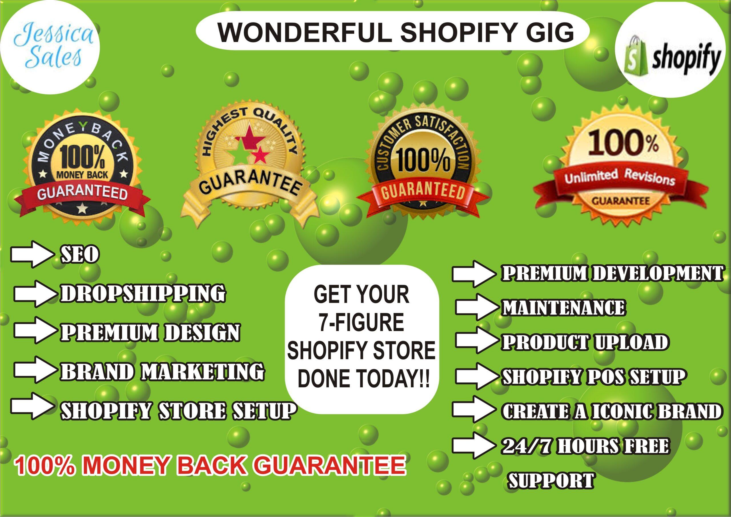 I will do ROI shopify marketing, ecommerce marketing shopify promotion, shopify traffic, FiverrBox