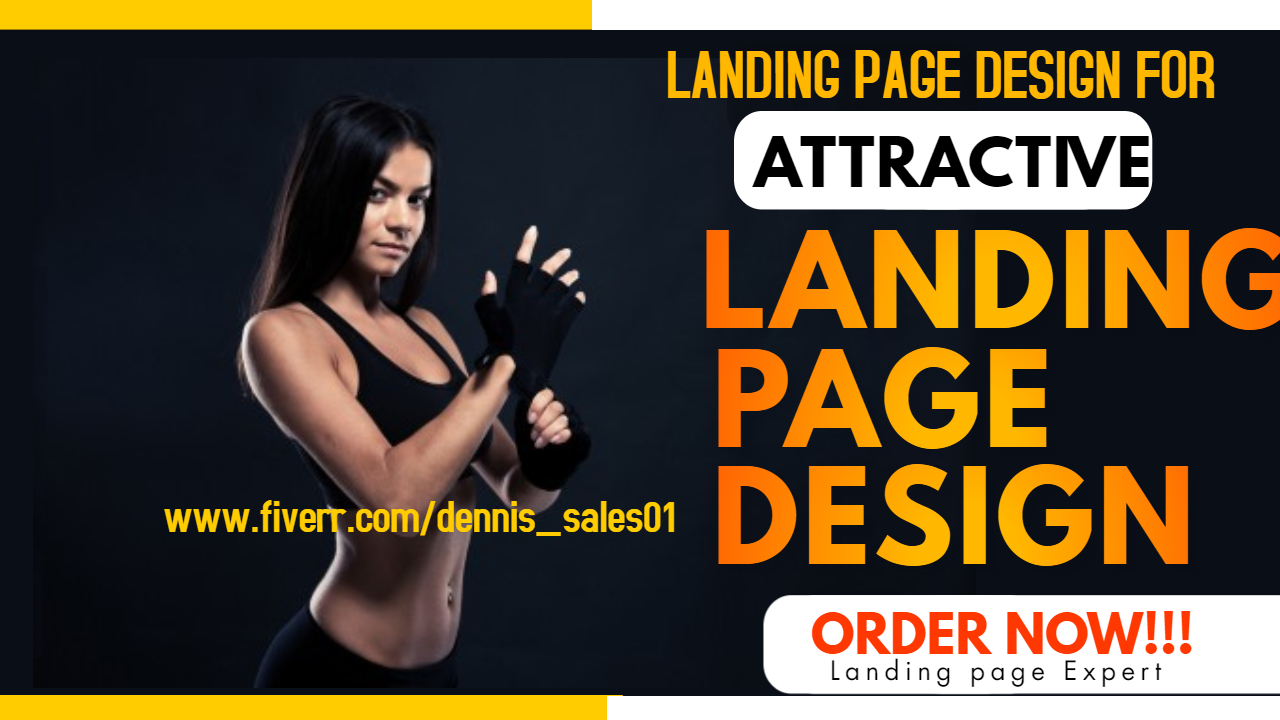 I will attractive shopify landing page squeeze page for products, FiverrBox