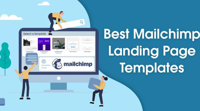 I will build mailchimp landing page,sale page,sales funnel