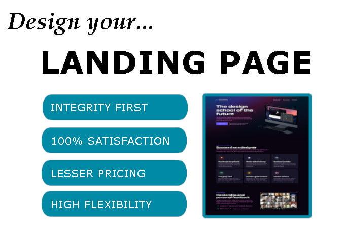 I will do mailchimp, getresponse, kartra, klaviyo, leadpages, landing page design, FiverrBox