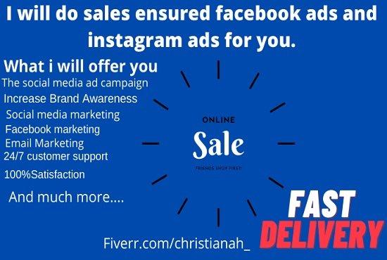I will setup profitable facebook instagram ads sales funnel for shopify marketing promo, FiverrBox