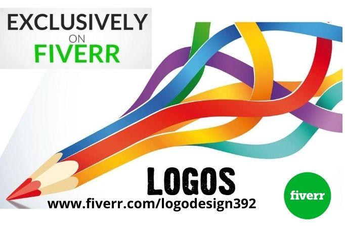 I will originate modern minimalist logo design, FiverrBox