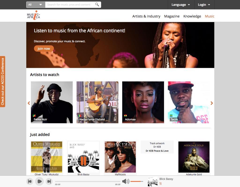 I will build music website for music artist, dj, label, music brand website, FiverrBox