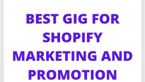 I will ecommerce shopify marketing, shopify promotion, shopify traffic, shopify sales, FiverrBox