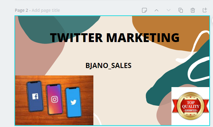 I will do fast twitter marketing and get organic followers, FiverrBox