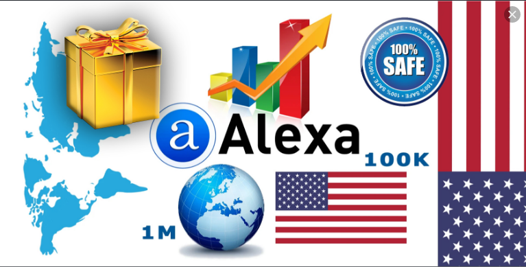 I will boost your USA alexa rank quickly below 999 to 35k with high traffic banklink, FiverrBox