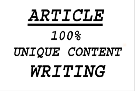 I will do SEO article writing, blog writing, content writing, FiverrBox