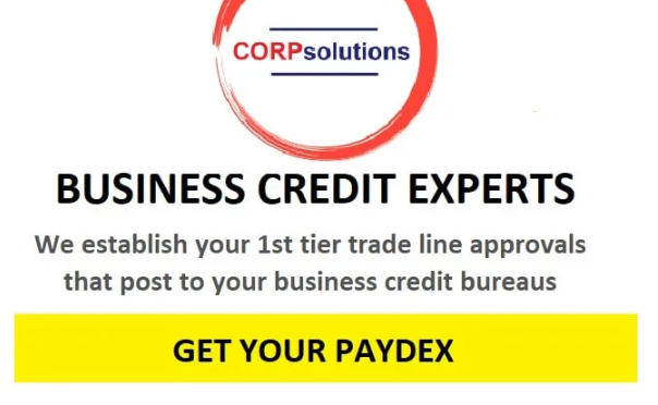I will include 6 endorsements for exchange lines to your llc,inc set up business credit