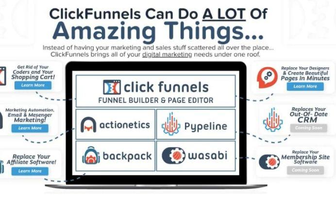 I will set up a high converting clickfunnels sales funnel, FiverrBox