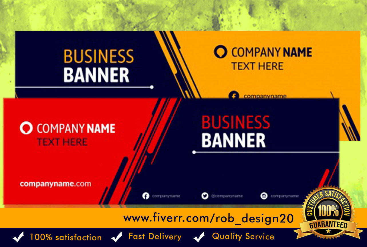 I will design an eye catching social media cover, FiverrBox
