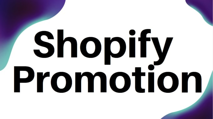 I will shopifymarketing shopify promotion dropshipping and aliexpress dropshipping, FiverrBox