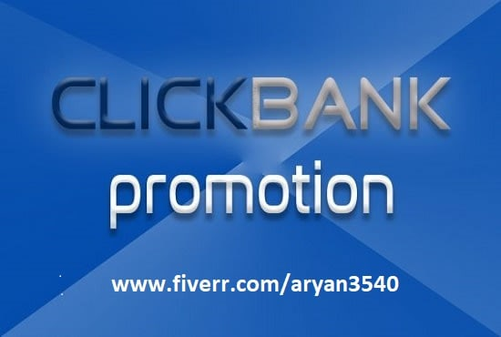 I will do strategic clickbank affiliate link promotion or affiliate link promotion, FiverrBox