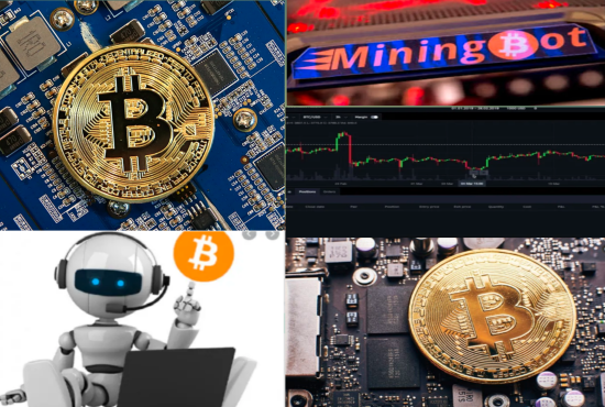 I will develop crypto mining software bitcoin mining trading bot with mining bot, FiverrBox