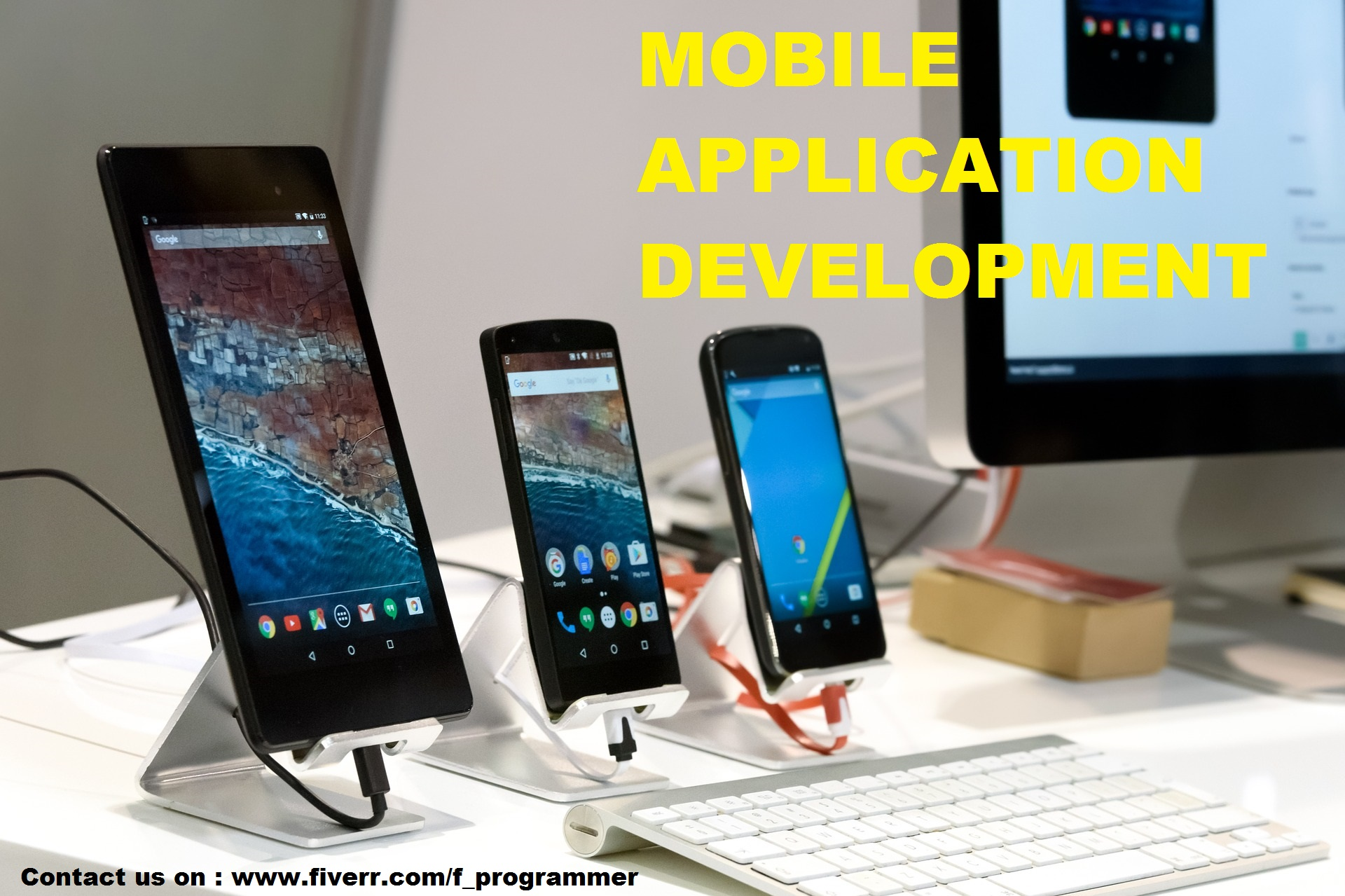 I will do perfect android and ios app development, FiverrBox