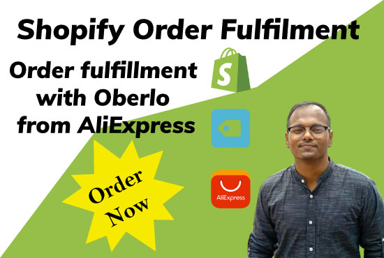 I will your VA and fulfil your shopify orders using oberlo