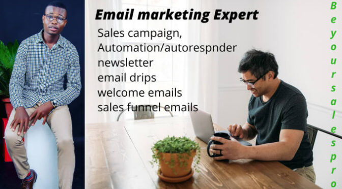 I will setup ecommerce email marketing flows, sales campaign, newsletter, sales funnel