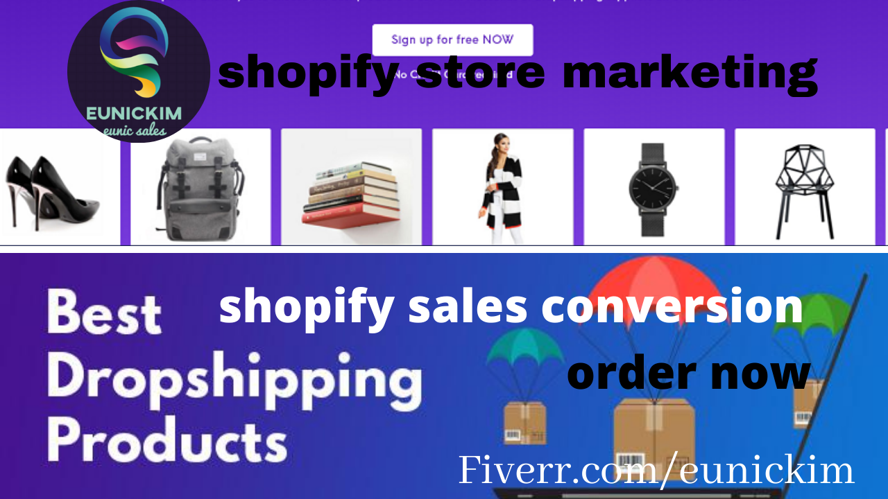 I will do sales conversion shopify marketing ,roi boosting promotion and shopify traffic, FiverrBox