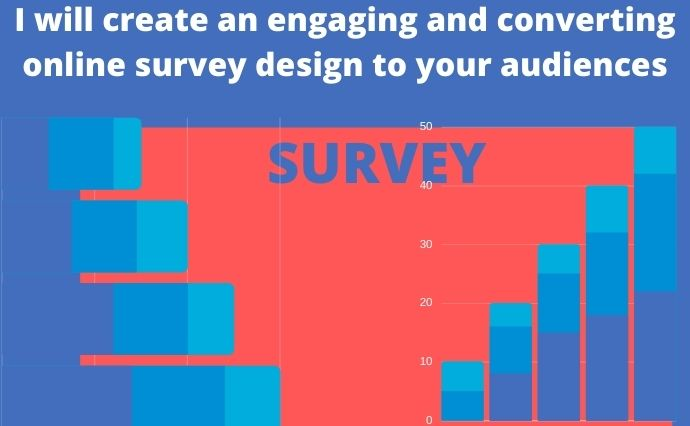 I will create an engaging and converting online survey design for your audience, FiverrBox