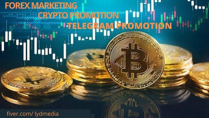 I will do organic telegram marketing,ico marketing,bitcoin traffic to targeted audience, FiverrBox