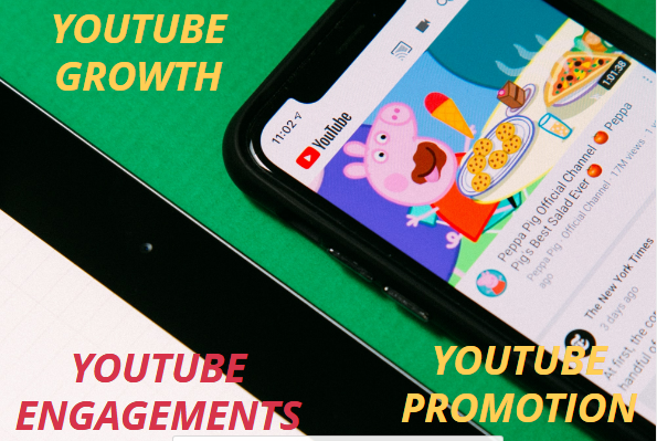 I will do organic promotion, effective youtube growth with increase engagements, FiverrBox