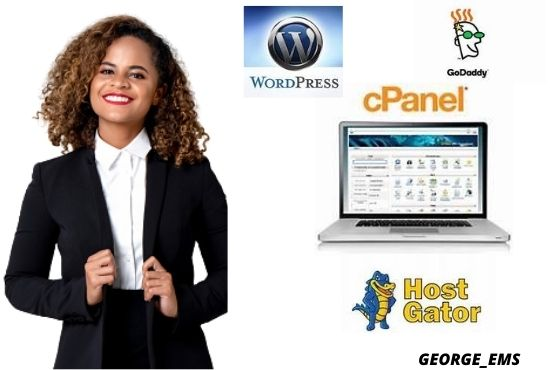 I will build a godaddy website with a godaddy builder or wordpress, FiverrBox