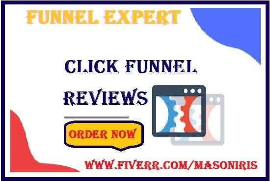 I will be your click funnel expert, marketing funnel, clickfunnels sales funnel,klaviyo, FiverrBox