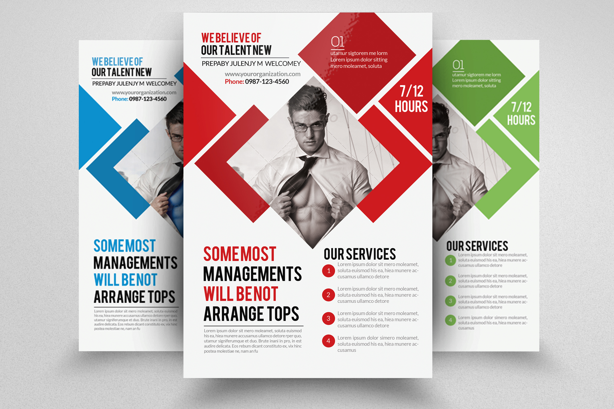 I will do unique professional business flyer design, FiverrBox