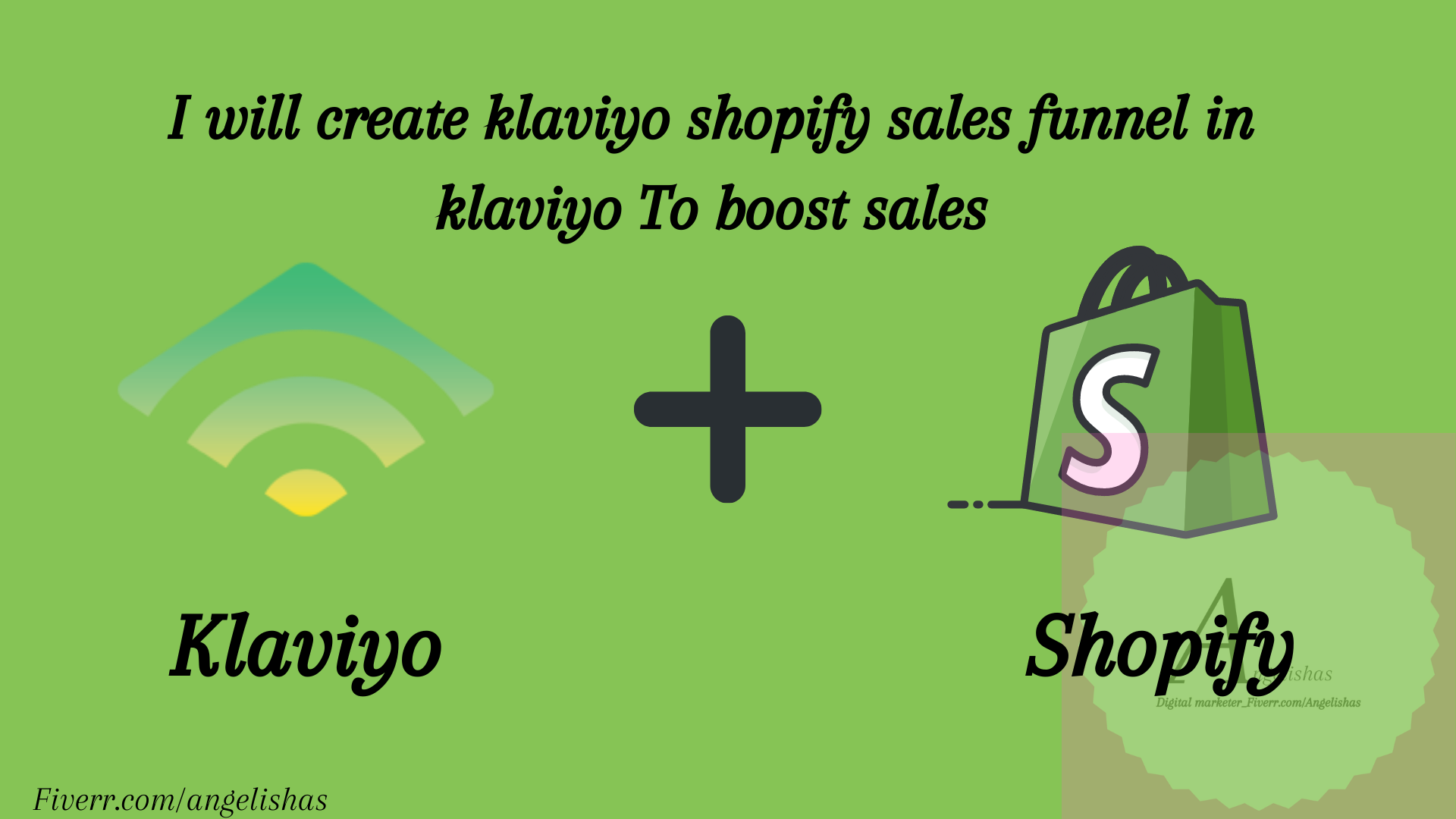 I will create klaviyo marketing sales funnel, Email sales funnel shopify marketing, FiverrBox
