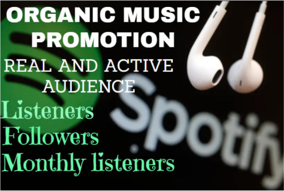 I will do best organic spotify music promotion and make it viral, FiverrBox