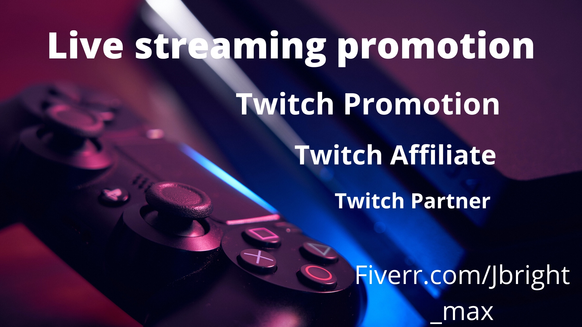 I will do extensive promotions to boost engagement on your twitch channel, FiverrBox