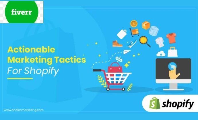 I will do ROI shopify store marketing promotion to drive traffic to your shopify store SHOPIFY SALES, FiverrBox