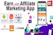 I will do viral affiliate link promotion affiliate marketing clickbank website traffic, FiverrBox