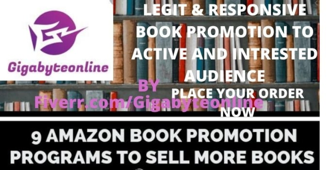 I will do viral amazon kindle book promotion to ebook lovers for sales, FiverrBox