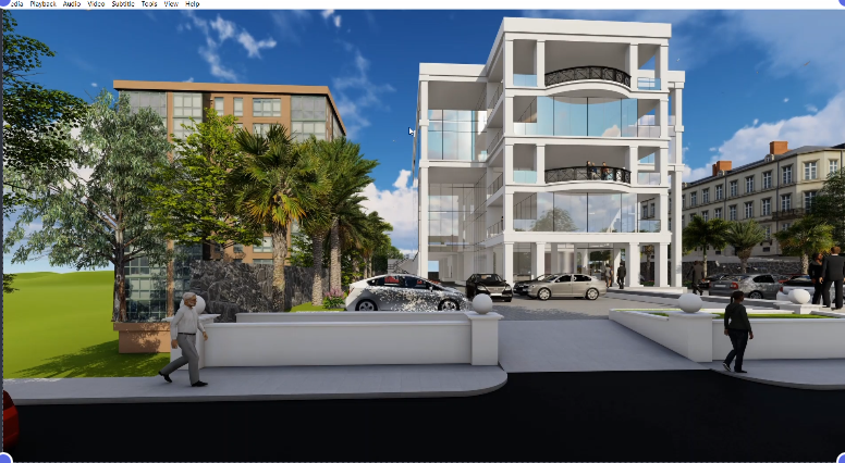 I will create architectural 3d rendering and walkthrough animation, FiverrBox