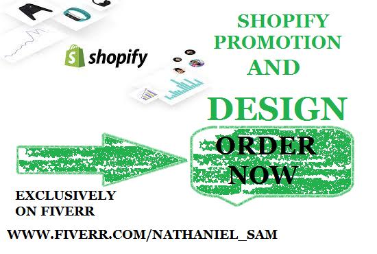 I will do shopify marketing, ecommerce marketing, shopify traffic, pinterest marketing, FiverrBox