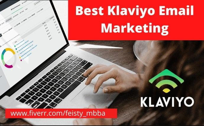 I will setup klaviyo email marketing flow for shopify marketing, FiverrBox