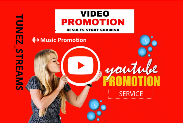 I will do viral youtube music video promotion organically, FiverrBox