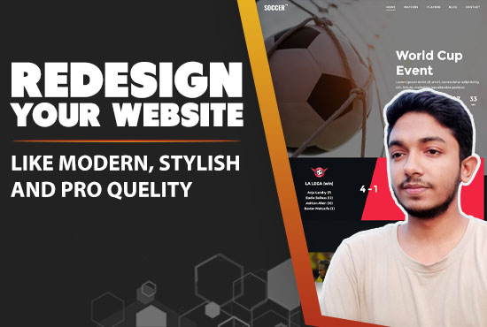 I will redesign wordpress website with pro quality, FiverrBox