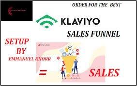 I will handle clickfunnels sales,setup klaviyo sales funnel for shopify sales funnel, FiverrBox