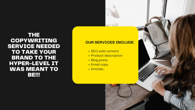I will exeptional sales copywriting service for web content, blog post and email copy, FiverrBox