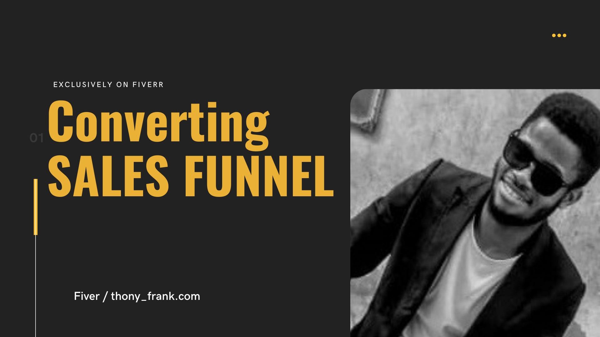 I will do clickfunnels, samcart, thrivecart kajabi, shopify sales funnel marketing, FiverrBox